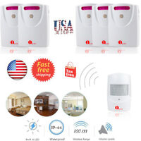 1Byone Wireless Alarm System Driveway Alert Motion Sensor Entry Doorbell Chime
