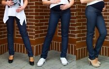 Maternity Cotton Leggings Over Bump Skinny Jeans Trousers Pregnancy Pants L NEW