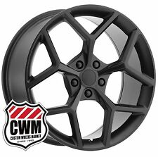 "(2) 20 inch 20x10"" OE Performance 126MB Chevy Camaro Z28 Matte Black Wheels Rims"