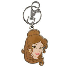 Disney Princess Belle Double Sided Keychain NEW Toys Keyring Movie Kids