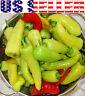 30+ ORGANICALLY GROWN Hungarian Hot Yellow Wax Pepper Seeds Heirloom NON-GMO USA