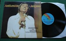 Jack Jones And I Love Her inc Somewhere My Love / More + CDL 8005 LP