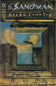 SANDMAN DREAM COUNTRY #18 NMINT- NEIL GAIMAN VERTIGO DC COMICS 1990 NEW NETFLIX