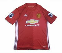 Manchester United 2016-17 Authentic Home Shirt (Excellent) M Soccer Jersey