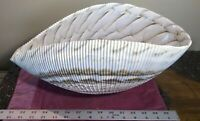 """MURANO GLASS """"SHELL"""" BOWL made for GUMPS"""
