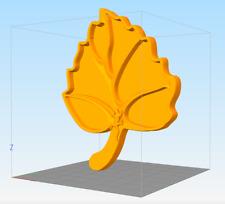 CNC 3D STL FILE  FLAT APERITIF VINES - PLAT APERITIF