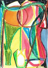 MIRTA CACCARO - Dipinto - Pastello Originale  2004