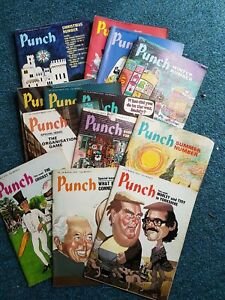 Punch Magazines 1976 X 13