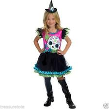 Girls Size Large 10-12 * Skully Sweetie * Costume Nwt Skeleton Witch