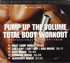 TOTAL BODY WORKOUT 1-PUMP UP THE VOLUME 5 CD NEU