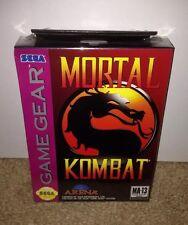 Mortal Kombat BRAND NEW SEALED! SEGA GAME GEAR (1992) SUPER RARE!