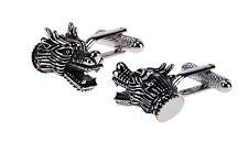 Dragons Head  Cuff Links  NEW  Cufflinks in gift box 15900