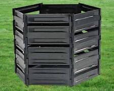 Komposter 900 Liter Bio-Komposter Kunststoff stapelbar und zerlegbar