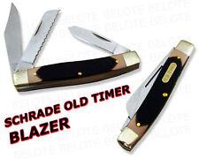 Schrade Old Timer Blazer 3-Blade DELRIN Knife 89OT NEW