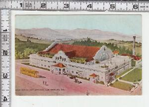 """Los Angeles """"BIMINI HOT SPRINGS""""  Postmark - PIRU CAL JUL 8  5 PM 1912"""