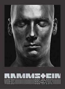 RAMMSTEIN Videos 1995-2012 (2012) 3-DVD box set NEW/SEALED