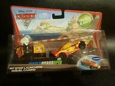 DISNEY PIXAR CARS MIGUEL CAMINO PIT STOP LAUNCHER PC SAVE 6% GMC