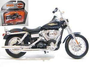 Harley Davidson 2006 FXDBI Dyna Street Bob 1:18 Scale Maisto Motorcycle Model