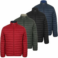 Mens Bubble Jacket Tokyo Laundry Coat Quilted Padded BACHMANN Winter Lined New