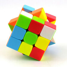 3x3x3 QiYi Warrior W Magic Cube Twsity Game Puzzle Bright Stickerless Kids Toys