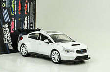Mr. Little nobody's Subaru WRX STi FAST AND & Furious 8 Blanco 1:24 Jada