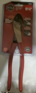 NEW SEALED DOYLE HIGH LEVERAGE 9.5-inch CRIMPING/CUTTING PLIERS # 63989