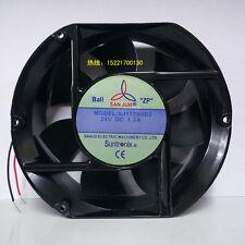 1 PCS SAN JUN SJ1725HD2 Cooling Fan  DC 24V 1.2A  2 Wire 172*150*51mm