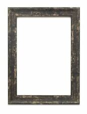 Industrial vintage wood effect/Camouflage Picture/Photo/Poster frame Black