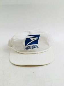 United States Postal Service USPS Vintage Hat, Snapback Trucker White