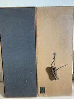 HMV Vintage speakers model 24567 free standing 4 ohms 25 watt good working order