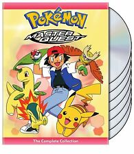 Pokemon Complete Fifth Season Five 5 Anime Master Quest DVD Set Anime Episode TV