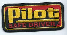Pilot safe driver truck driver patch 1-5/8 X 3-5/8 #637