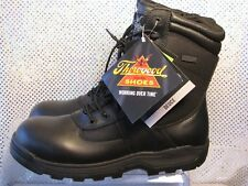 NWT THOROGOOD BLACK LEATHER DEUCE WATERPROOF SAFETY TOE WORK BOOTS SZ 13M- EU46