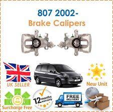 For Citroen C8 + Peugeot 807 2.0 2.2 3.0 2002- Rear Right & Left Brake Caliper