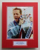 ALAN CURBISHLEY Charlton Athletic HAND SIGNED Photo Mount Autograph Display COA