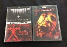 The Blair Witch Project / Blair Witch 2 / Blair Witch Dvd Lot 1 2 3 Rare