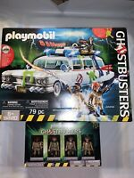 Playmobil Ghostbusters Ecto-1, Building Toy Set 9220 & Set 70175