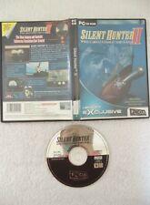 17950 - Silent Hunter II WWII U-Boat Combat Simulation - PC (2001) Windows 98 ES