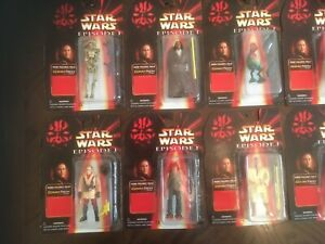 Star Wars EPS1 Bootleg Action Figures   Set of 6. All new and very rare.
