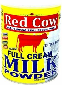 Red Cow Full Cream Milk Powder 900g, Made from Fresh Milk, Dutch Premium, Produc