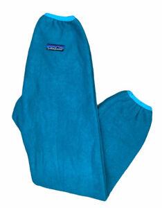 Vintage Patagonia Teal Fleece Sweatpants Unisex Kids 7/8 Made in USA