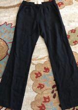 BELLA DAHL ~ WOMANS BLACK 100% LINEN BEACHCOMBER PANT~ SMALL ~ NEW