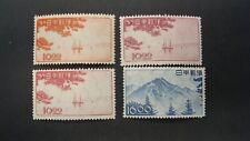 JAPAN SCOTT# 439-42 MH VF  LOT# 74466