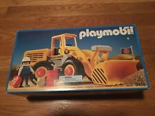 New in Box Playmobil Retired Construction 3458 Earth Mover