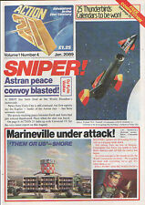 Gerry Anderson Action 21 #4 Thunderbirds Stingray Fireball XL5