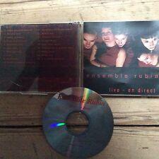 ensemble rubia- live-en direct 19 track cd