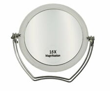 Make up Stellspiegel mit Metallfuss und 15-fach Vergrösserung!!! NEU   Nr. 3