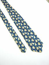 LES COPAINS PARIS Cravatta Tie NUOVA NEW 100% Seta Silk ORIGINALE