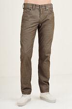$159 True Religion Men's Corduroy Rocco Skinny Pant MDBJ60N29R Size 36 Green NWT