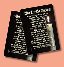"""The Lord's Prayer"" - 2 Inspirational Verse Cards - sku# 504"